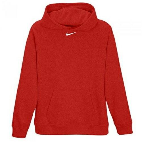 【送料無料】Nike Nike ナイキ Team Team チーム Club クラブ Fleece フリース Hoodie フーディー・パーカー - Boys Grade School Scarlet/白・ホワイト