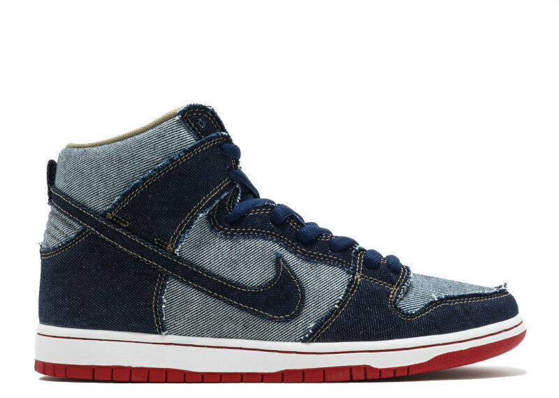 ナイキ NIKE エスビー ダンク �イ デニム DUNKS SB DUNK HIGH TRD QS REESE FORBES DENIM