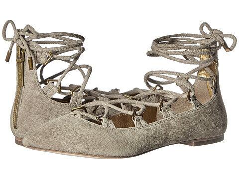 pierre balmain laceup ballet flats 靴 レディース靴 カジュアルシューズ