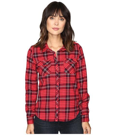 クール ロング シャツ スリーブ ロキシー フランネル roxy squary cool long sleeve flannel shirt トップス レディースファッション