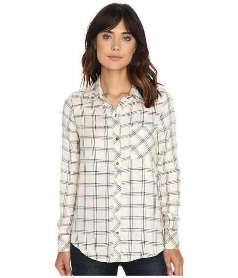 rip リップ curl カール nightline flannel フランネル shirt シャツ トップス レディースファッション