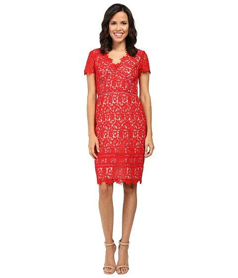 ワンピース ドレス ディテール レース nue by shani lace dress with trim detail レディースファッション