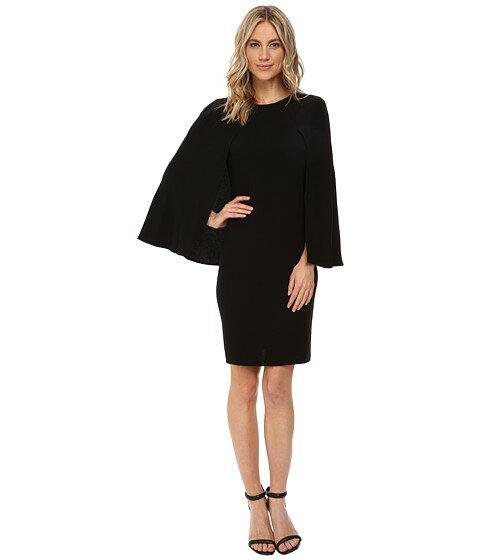 ケープ ドレス クレープ ワンピース ディテール nue by shani crepe dress with cape detail レディースファッション