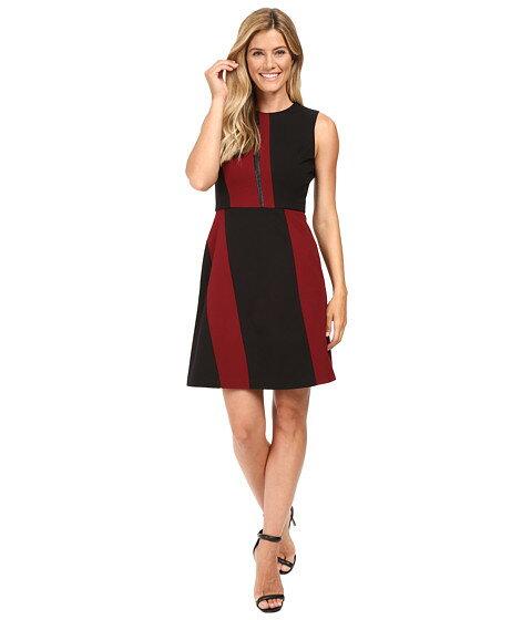 ノンスリーブ カラー ワンピース ビンス ドレス vince camuto sleeveless color blocked dress レディースファッション