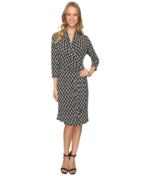 カスケード cascade ワンピース ラップ カレン 3 4 スリーブ ドレス karen kane sleeve wrap dress レディースファッション