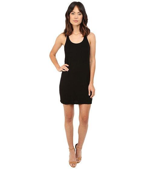 タンクトップ リブ ワンピース ドレス splendid 2x1 ribbed tank dress レディースファッション