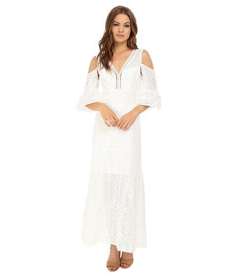 ドレス マキシ ワンピース nanette lepore merengue maxi dress レディースファッション