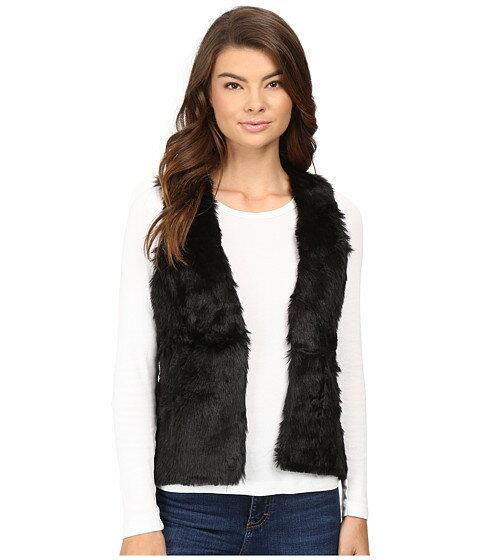 ベスト stetson faux fur cropped vest レディースファッション アウター コート ジャケット
