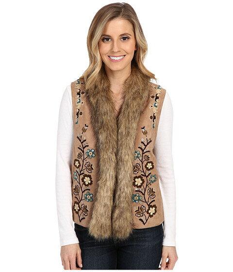 非常に幻想的な評判を得ている ベスト double d ranchwear mansi blossom vest アウター ジャケット コート レディースファッション