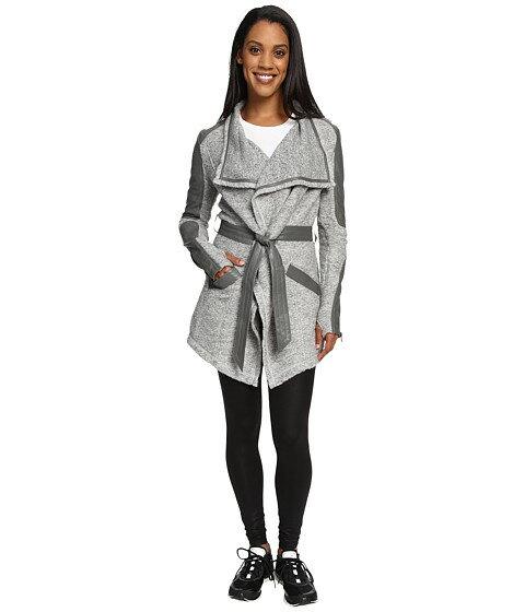 ブランク blanc noir drape sweater coat アウター コート ジャケット レディースファッション