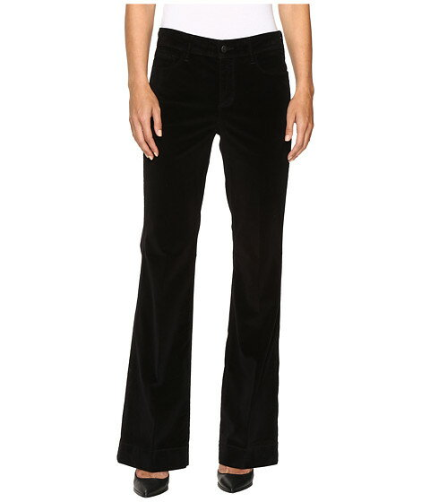 nydj teresa modern モダン trousers in black 黒 ブラック パンツ ボトムス レディースファッション