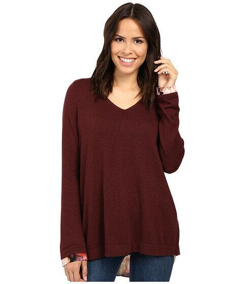 nydj key item mixed media sweater トップス レディースファッション セーター ニット