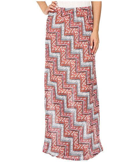 Roper 0447 Floral Chevron Printed Georgette Skirt