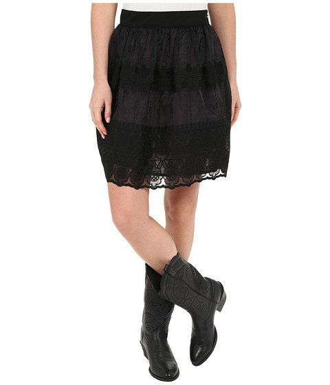 Stetson Black Organza Skirt