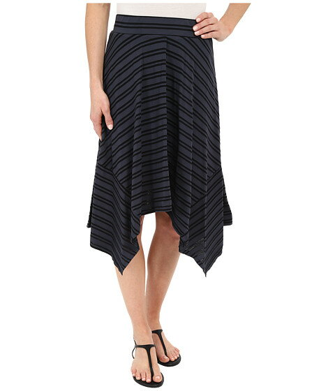 Mod-o-doc Tonal Tencel Stripe Handkerchief Stripe Skirt