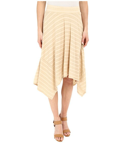 Mod-o-doc Tonal Tencel Stripe Handkerchief Stripe Skirt