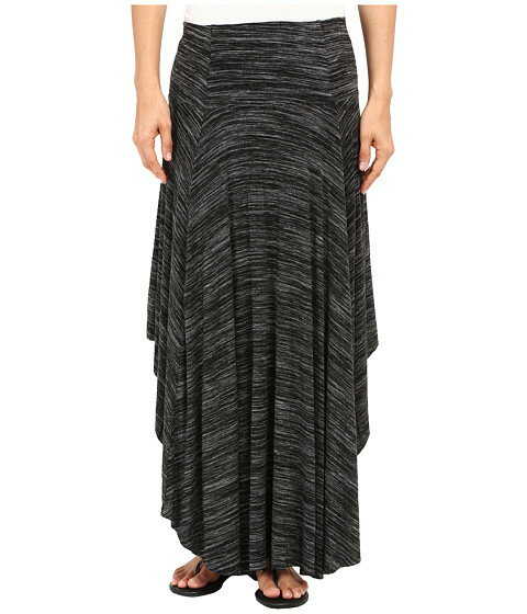 Mod-o-doc Space Dyed Rayon Spandex Jersey Round Midi Skirt