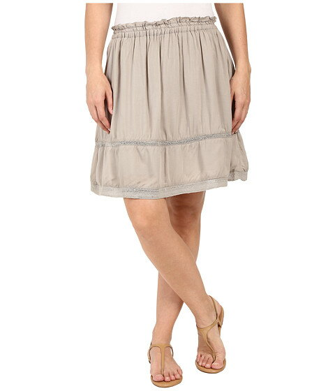 Dylan by True Grit Dream Cotton at Ease Pocket Skirt