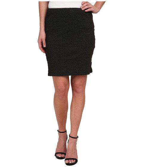 Three Dots Ribbed Skirt