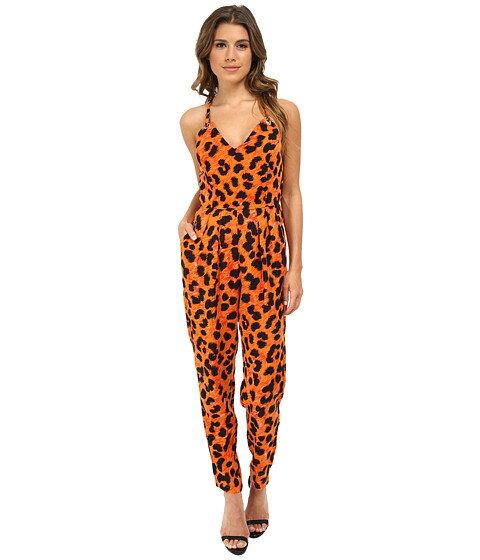 french フレンチ connection コネクション leo レオ leopard レオパード 7gdaa サロペット オールインワン レディースファッション