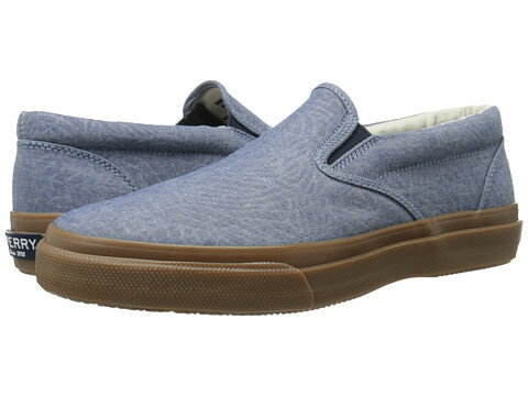 Sperry Striper Slip-On Chambray