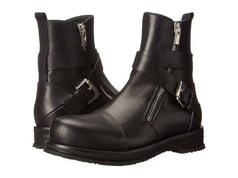 CoSTUME NATIONAL Cross Buckle Boot