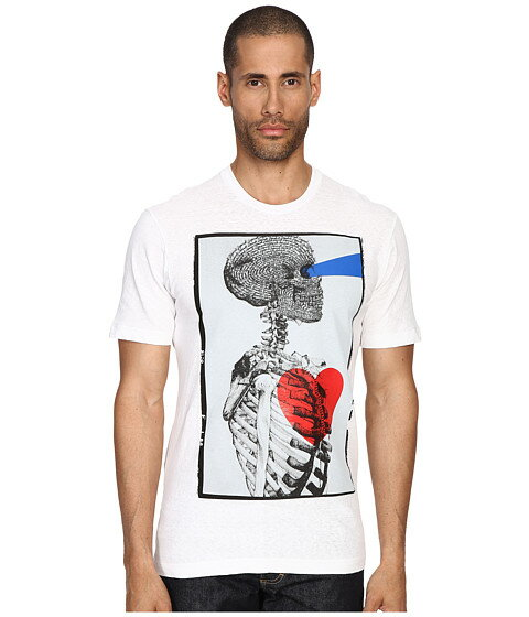 DSQUARED2 Tight Hetero Soft & Shinty T-Shirt