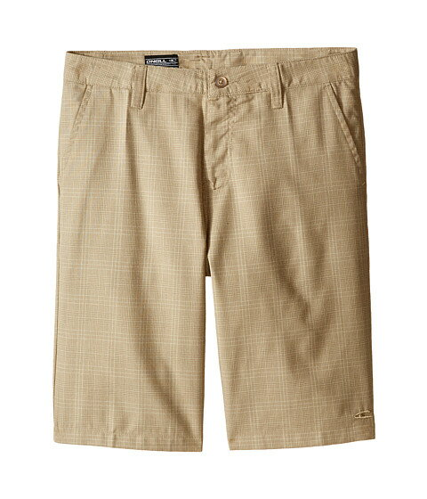 O\'Neill Kids Delta Plaid Shorts ショーツ (Big Kids)