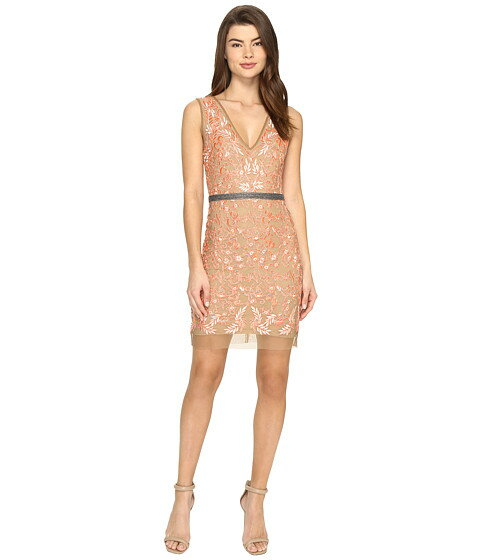 Nicole Miller Veroniqe Embroidered Dress