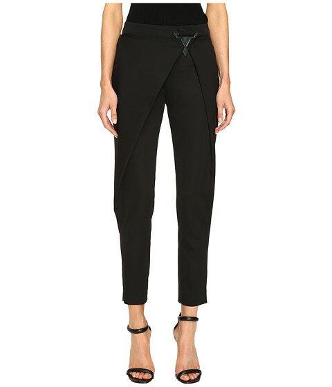 ファッションの巨大な分身 Versace Jeans パンツ Draped Open Pants