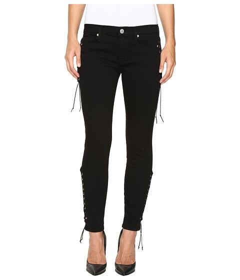 値段が激安 Hudson Suki Mid-Rise Ankle Super Skinny in Black