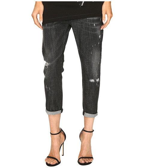 クール パンツ dsquared2 cool girl cropped jeans in sparkle wash