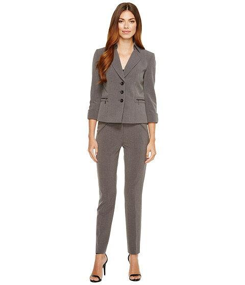 tahari by asl 3 4 length sleeve スリーブ jacket ジャケット & pant パンツ suit レディースファッション スカートスーツ スーツ