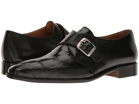 massimo matteo eel skin monk strap ストラップ メンズ靴 カジュアルシューズ 靴