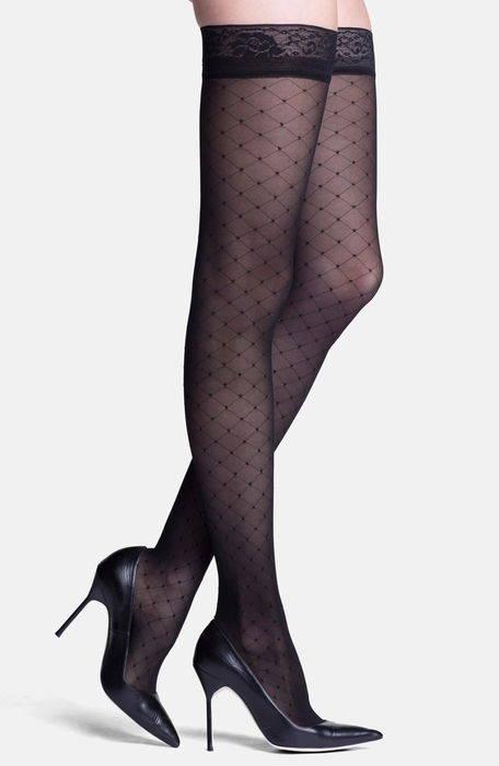 ダイヤモンド パターン コンプレッション '' starlet diamond pattern compression thigh highs レッグウエア 下着 レディース靴下 ストッキング パンティストッキング ナイトウエア インナー