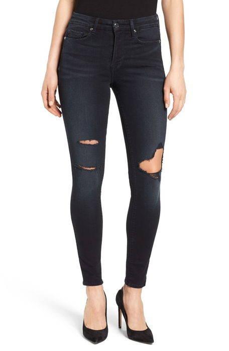 good legs high rise ripped skinny jeans グッド レッグス ハイ ライズ スキニー パンツ ボトムス レディースファッション