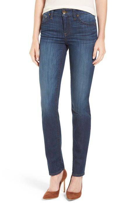 ストレッチ ストレート レッグ パンツ '' stevie stretch straight leg jeans ボトムス レディースファッション