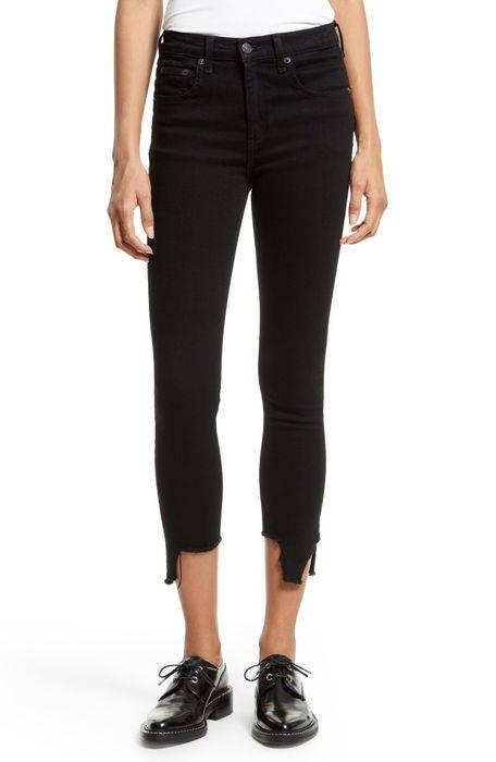 cutoff capri jeans カットオフ カプリ パンツ レディースファッション ボトムス
