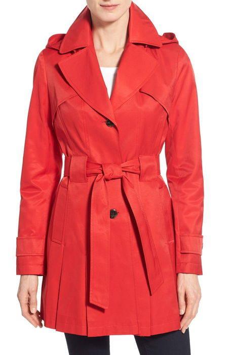 scarpa hooded single breasted trench coat '' シングル ブレスト トレンチ コート アウター ジャケット レディースファッション