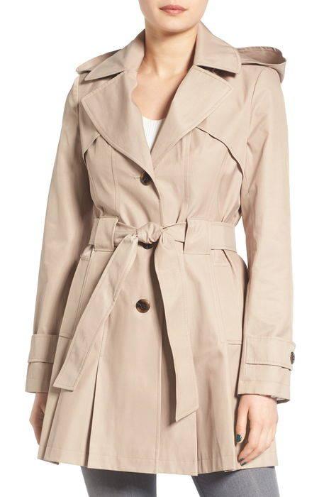 scarpa hooded single breasted trench coat '' シングル ブレスト トレンチ コート ジャケット アウター レディースファッション