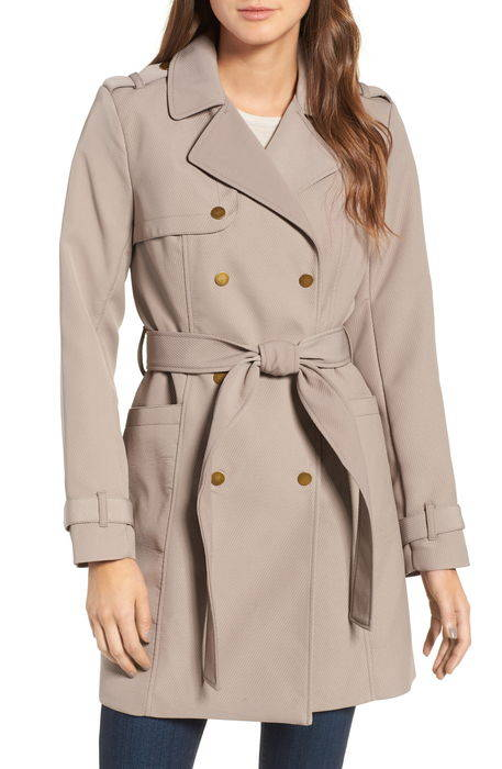 belted trench coat ベルティッド トレンチ コート アウター レディースファッション ジャケット