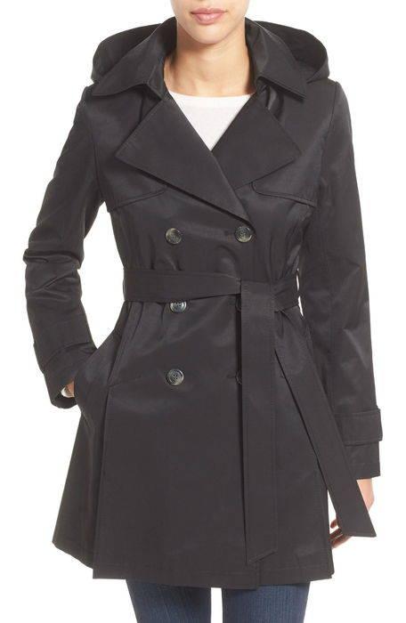 detachable hood trench coat フード トレンチ コート レディースファッション アウター ジャケット