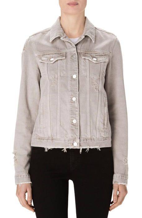 slim denim jacket スリム デニム ジャケット コート レディースファッション アウター