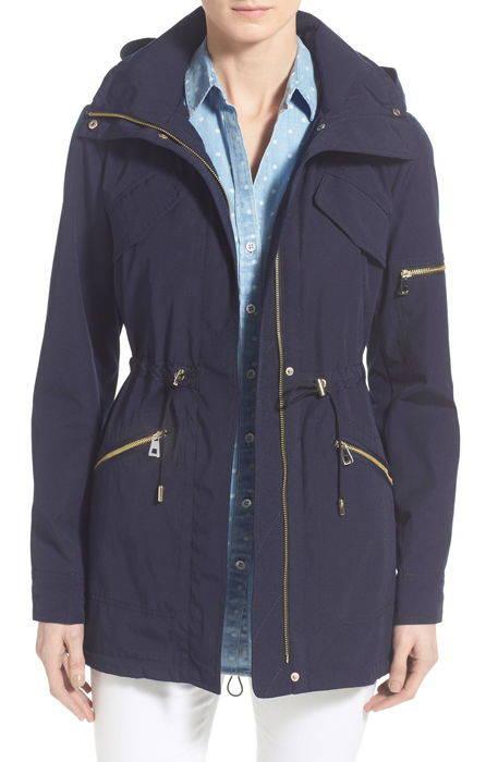 drawstring drop tail jacket ドロップ テイル ジャケット アウター コート レディースファッション