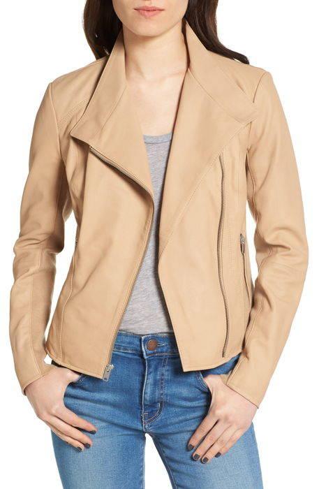 felicia asymmetrical zip leather jacket ジップ レザー ジャケット アウター コート レディースファッション