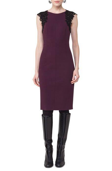 lace trim sheath dress レース ドレス ワンピース レディースファッション