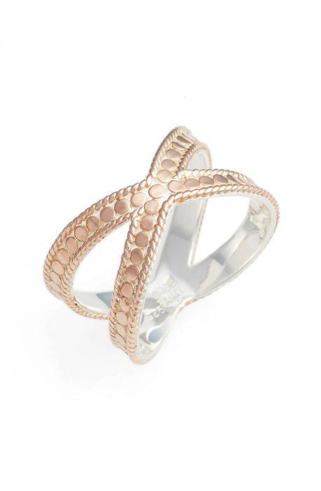 gili crossover ring '' クロスオーバー リング アクセサリー 指輪 ジュエリー メンズジュエリー