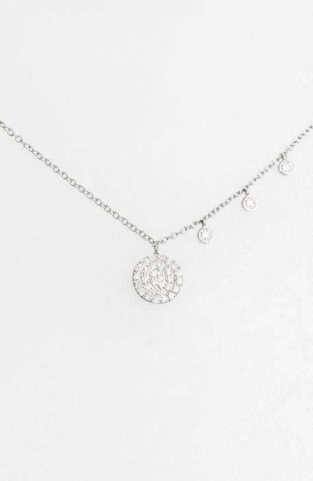 dazzling diamond disc pendant necklace ダイヤモンド ディスク ペンダント ネックレス ジュエリー メンズジュエリー アクセサリー