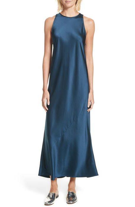 mikel stretch silk midi dress ストレッチ シルク ミディ ドレス ワンピース レディースファッション