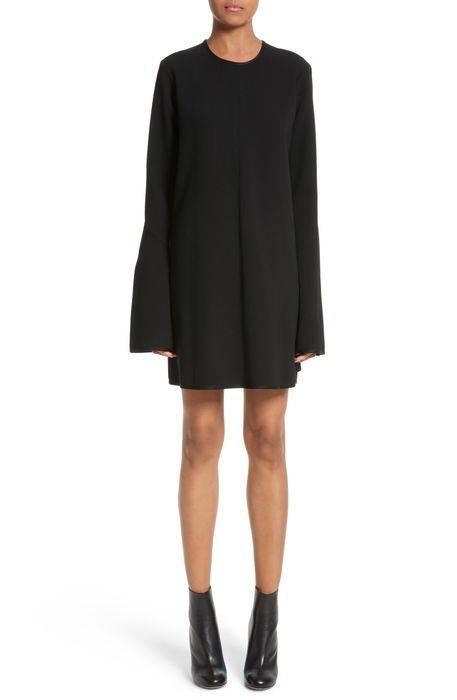 preacher flare sleeve minidress フレアー スリーブ レディースファッション ドレス